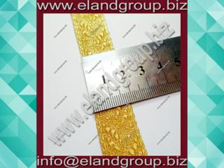 Gold Oak Leaf Lace Supplier