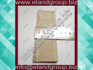 Granby Silver Mylar Lace