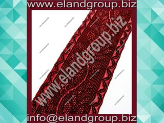 Oak Leaf - Burgundy Lace