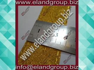 Oak Leaf - Army Gold Mylar Lace