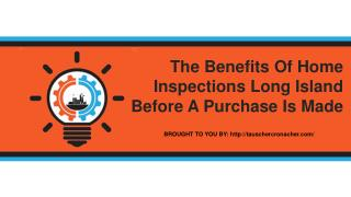The Benefits Of Home Inspections Long Island Before A Purchase Is Made