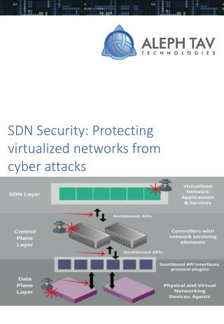 SDN Security: Protecting virtualized networks from cyber attacks