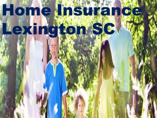 Detail About Home Insurance Lexington SC