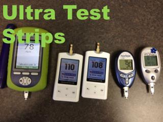 Ultra Test Strips With Different Quality