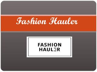 Get Best Denims at Fashion Hauler