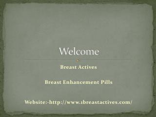 Breast Enhancement Pills