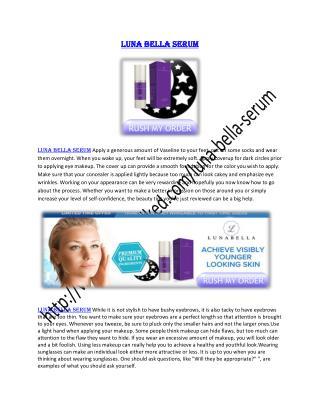http://www.healthtalked.com/luna-bella-serum/