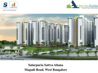 Salarpuria Sattva Altana | Ongoing Project In West Bangalore