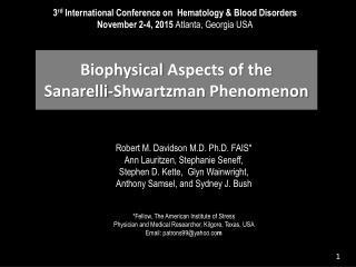 Davidson first hematology 2015