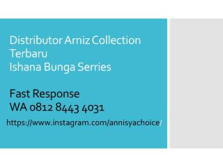 0812 8443 4031, Arniz Baju Muslimah Ishana Bunga