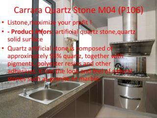 Carrara Quartz Stone M04 (P106)