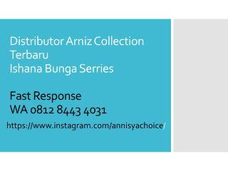 0812 8443 4031, Jual Arniz Baju Muslim Ishana Bunga