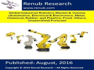 Global Industrial Robotics Market and Volume Forecast