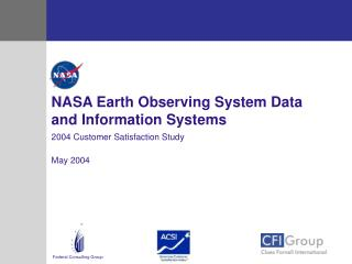 NASA Earth Observing System Data and Information Systems