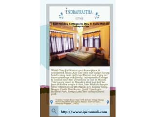 Best Luxury Resorts in Manali-Indraprastha Cottage