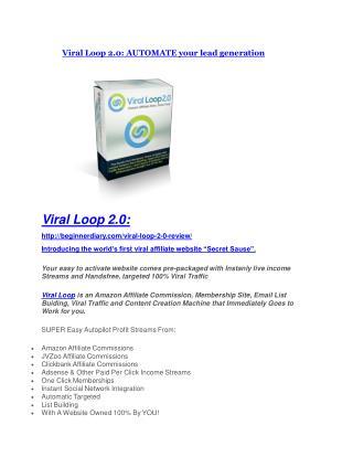 Viral Loop 2.0 review and (MEGA) bonuses – Viral Loop 2.0