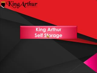 State of the Art Security System in KingArthur Self Storage