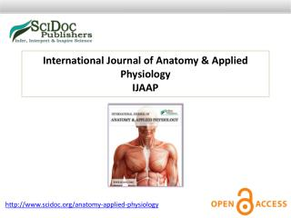 International Journal of Anatomy & Applied Physiology
