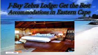 Exclusive accommodation in Port Elizabeth