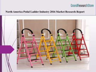 North America Pedal Ladder Industry 2016 Market Research Report
