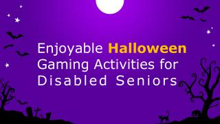 Halloween Games for Seniors with Mobility Problems