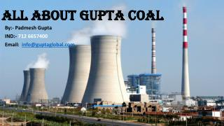 All about gupta coal