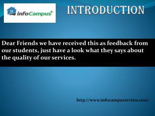 reviews of infocampus