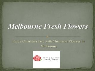 Christmas Flower Delivery Melbourne - Melbourne Fresh Flowers