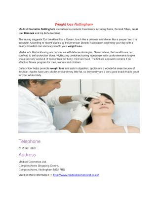 Botox Nottingham | Botox | Dermal Fillers Nottingham