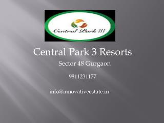 Central Park Sohna Road Sector 48 | Call@  91-9811231177