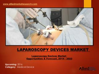 Laparoscopy Devices Market  Aanlysis Forecast by 2022
