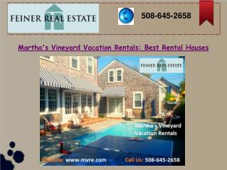 Martha's Vineyard Vacation Rentals: Best Rental Houses