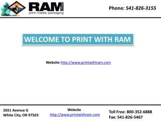 Brochure printing oregon