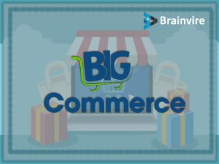 Grows your business with BigCommerce