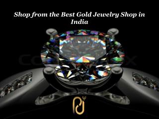 Shop from the Best Gold Jewelry Shop in India