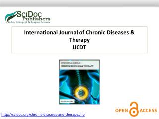 International Journal of Chronic Diseases & Therapy