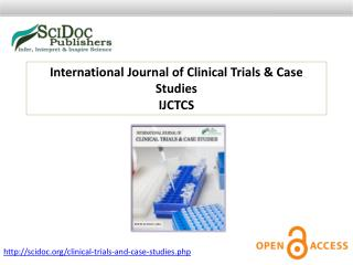 International Journal of Clinical Trials & Case Studies