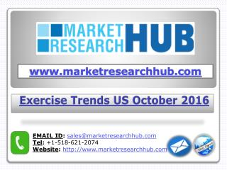 Exercise Trends US October 2021