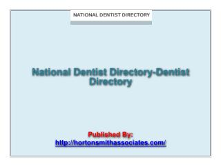 Dentist Directory