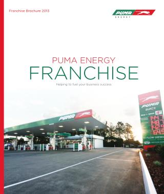 Puma Energy Franchise Brochure