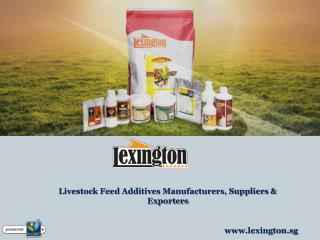 Livestock Feed Additives Manufacturers