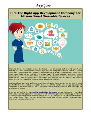 Wearable Devices,  Next Trend Setter Of Gadget Technology