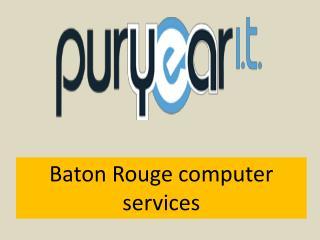 Baton Rouge computer services