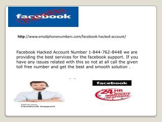 Facebook Hacked Account Number 1-844-762-8448 Facebook Hacked