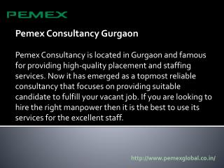 Pemex Consultancy Gurgaon
