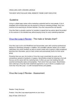 viral loop review | viral loop features