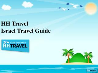 HH Travel Israel travel guide