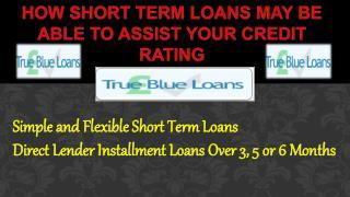 Assist Short Term Loans