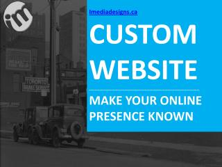 Custom Web Design Toronto | Website Development
