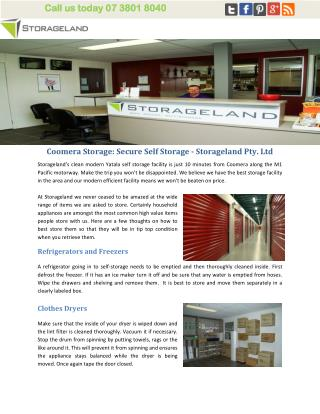 Coomera Storage: Secure Self Storage - Storageland Pty. Ltd